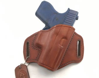 Glock 43 - Handcrafted Leather Pistol Holster