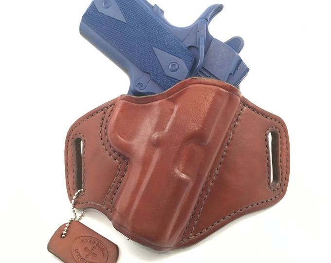 "1911 3"" - Handcrafted Leather Pistol Holster"