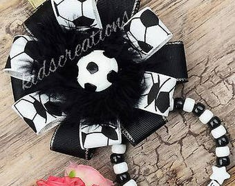 Personalised Gorgeous Pram Charm in Black & White for baby girls boys Prams
