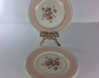Homer Laughlin Eggshell Georgian Dinner Plates Set of 5