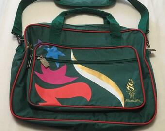 Atlanta Olympics 1996 Vintage Media Bag Atlanta Olympic Broadcasting