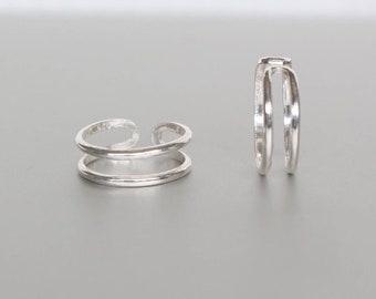 Sterling Silver Toe Ring, Toe Bands, Simple Toe Ring, Stocking Stuffers, Minimalist Toe Ring, Bohemian Toe Ring (TS90)