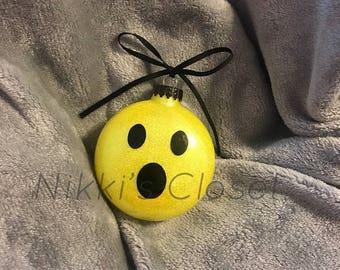 Emoji Ornament- Emoji Themed Ornament