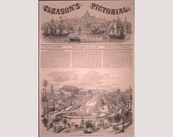 Havana – Cuba –Imperal Del Paseo - 1853
