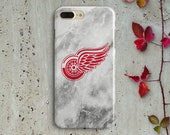 DETROIT RED WINGS iphone case Samsung Case Sports Team Nhl Hockey Htc case Lg Case Google Pixel case Moto case Sony Xperia case gift for him