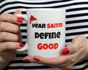 Christmas Calories Don't Count Mug | Funny Christmas Mug | Sarcastic Christmas Gift