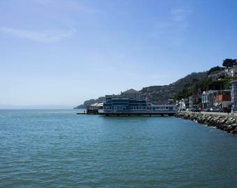 Sausalito, San Francisco, California Photography Art Print