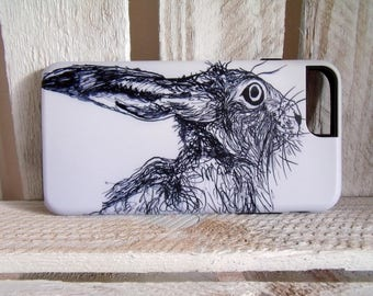 Hare iPhone 7 Plus Phone Case - Cover - Skin - Hare Gift