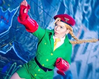 Cammy White Street Fighter V Cosplay SFV Story Mode Costume