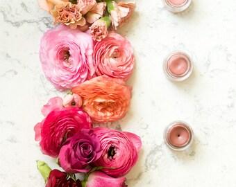 Organic Lip and Cheek Tint | Lip Tint with Shimmer, Jojoba Oil and Argan Oil in shade Esmeralda | Natural Lip Tint | Organic Cheek Tint