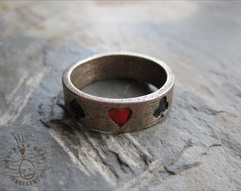 Stainless Steel Playing Card Ring