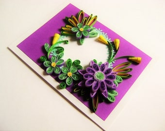 Greeting cards handmade,Quilled cards,Thank you cards,70th birthday cards mum,Quill card gift box,happy 90th birthday cards,60th anniversary