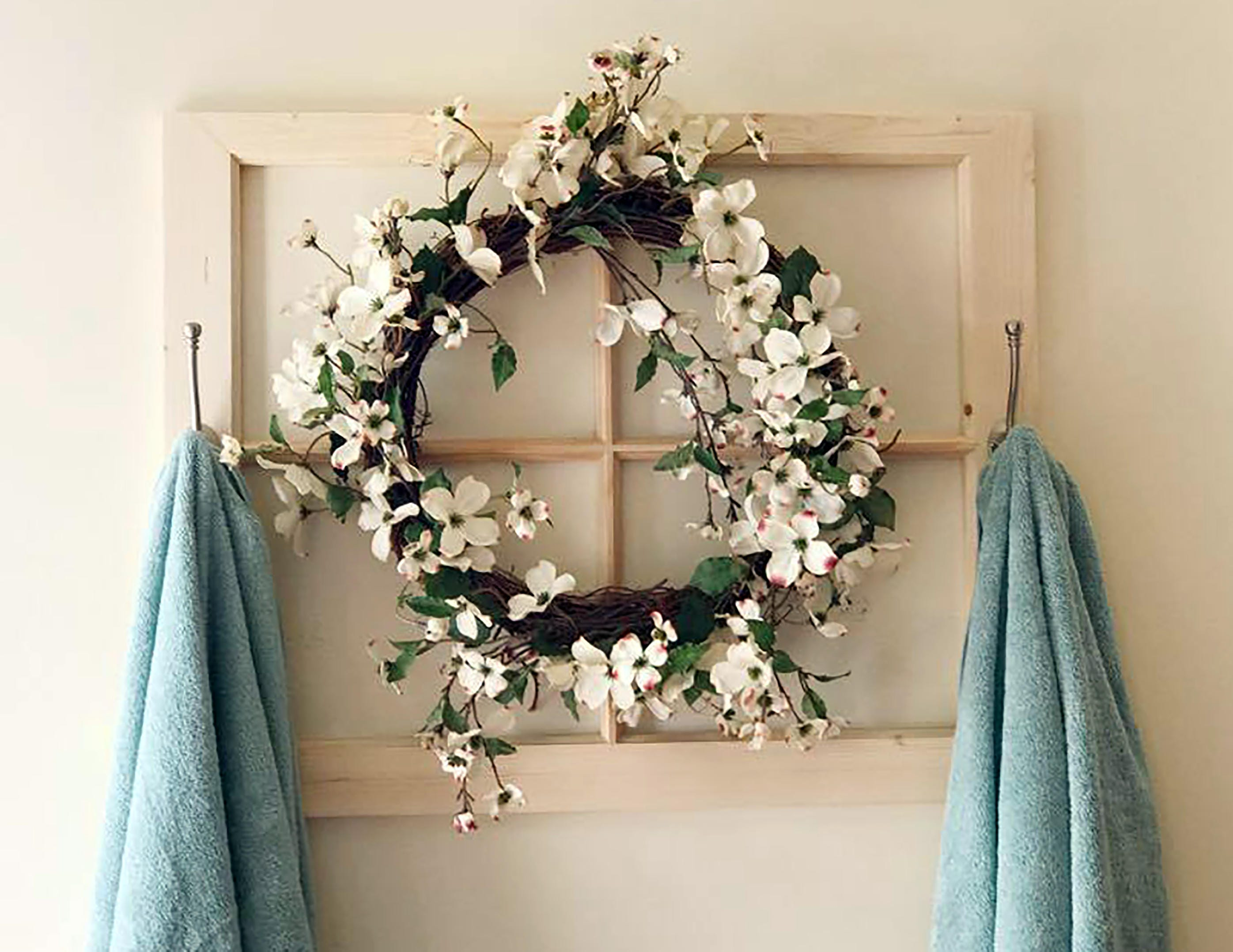Towel Rack Bathroom Decor Bathroom Towel Rack Rustic Towel