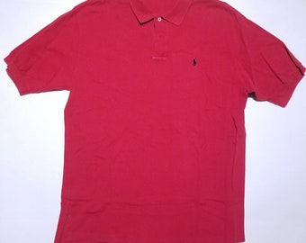 Red Polo by Ralph Lauren Vintage Shirt L