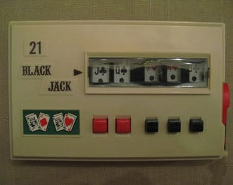 Vintage Waco Black Jack 21 Game Battery Operated Game New Batteries Included 1960s