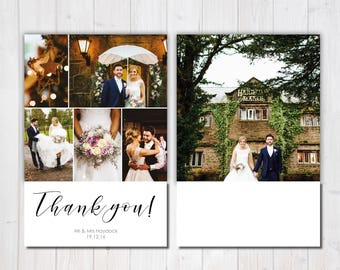 Photo Thank You Card, Wedding Thank You Card