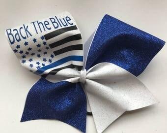 Officer appreciation cheer bow