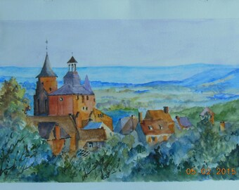 Watercolor on paper medium grain 300gms montval