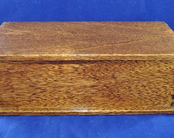 Solid Mahogany Wood Box