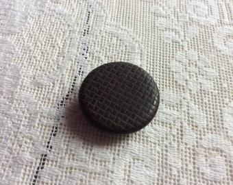 Antique 1851 Goodyear Button, Marked