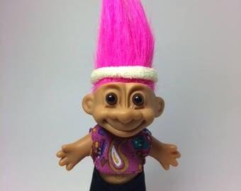 """Vintage Russ Troll Skateboard Skateboarder Skater Troll Doll 5"""" , Russ Troll lost , Russ troll doll"""