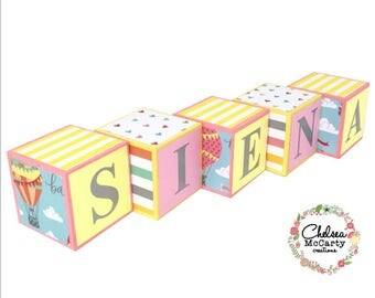 Personalized Baby Blocks - Custom Baby Blocks - Custom Blocks - Nursery Decor - Blocks - Pregnancy Announcement - Baby Name Blocks - Nursery