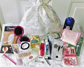 Bridal Emergency kit|Bride Emergency Kit|Wedding emergency kit Wedding Money Bag|Bride Kit|Bridal Shower Gifts for Bride|Honeymoon kit