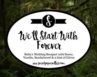 We'll Start With Forever, Twilight Inspired Soy Candle