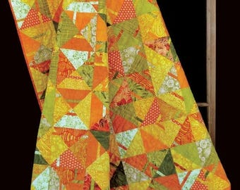 Sale Citrus Punch Quilt Pattern by Kenna Ogg for from Madison Cottage Design
