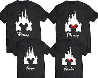 Disney Family Shirts   Disney Shirts  Mickey and Minnie Head   Custom Disney Trip Shirt I Cruise