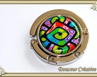 Bag multicolor spiral 106022 hook