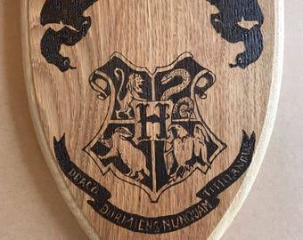 Harry Potter oak serving board