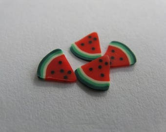 set of 12 thin slices for nail jewelry 50
