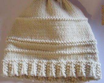 Hat 100% Merino Wool from Alpine huts