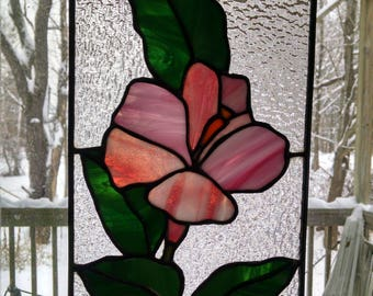 Hyacinth, Flower, Stained Glass Panel, Gift