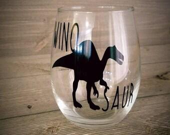 Winosaur Stemless Wine Glass, Winosaur, Stemless Wine Glass, Stemless Glass