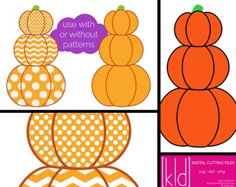 Stacked Pumpkins svg - Pumpkin Stack svg - Pumpkins svg - Fall svg files - Harvest svg - Cute Pumpkin svg - Stack of Pumpkins svg