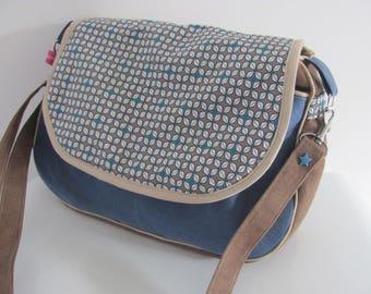 Bandouillière completion on order bag / Crossbody bag in suede