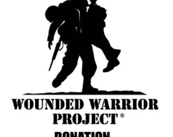 WOUNDED WARRIOR DONATION