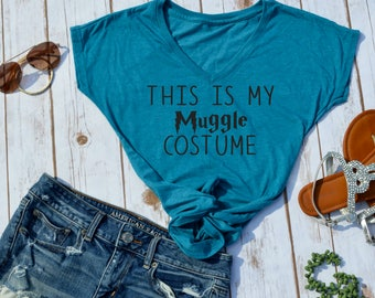 this is my muggle custom t-shirt- harry potter tshirt- harry potter shirt- harry potter halloween costume- funny harry potter halloween