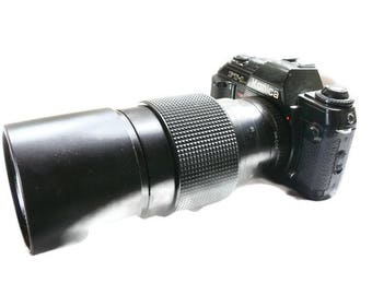 Konica FT-1 Motor, 300 mm Tele-auto Lens, SLR Camera, Vintage Camera, 35mm Camera, Analogue Camera, 35mm SLR Camera