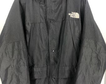 Vintage THE NORTH FACE Gore-Tex Xcr Summit Series Jacket Mens Large North Face Black Jacket Hoodie North Face Jacket Bomber Size L #A895