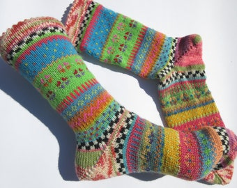 Colourful socks artist Gr. 40/41