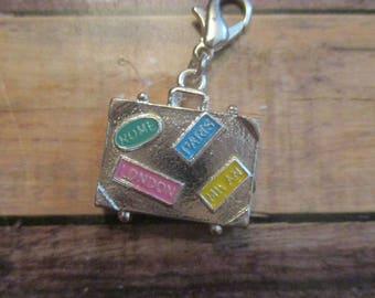 Charm Bracelet Charm - Suitcase