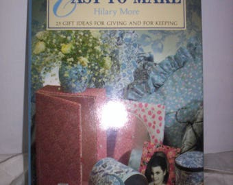 Easy to Make Pretty Things -  25 gift ideas to make (1989)