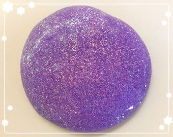 Purple Glitter Slime
