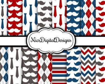 Buy 2 Get 1 Free-16 Digital Paper. Fathers Day Papers 4 (1H no 4) for Personal Use and Small Commercial Use Scrapbooking