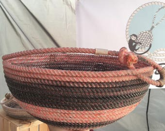 Pink and Slate colored Lariat bowl