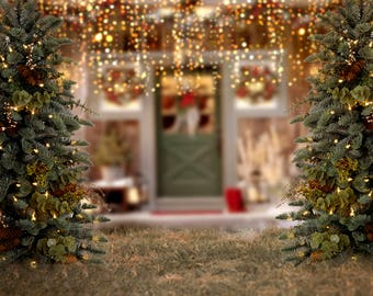 Christmas  Composite/ Digital Background/ Holiday backdrop