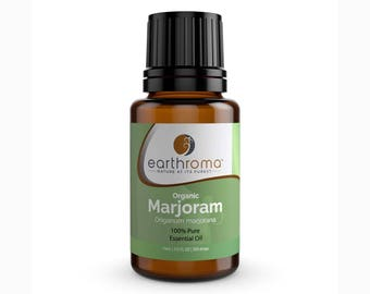 Marjoram (Organic) Essential Oil | 5 mL | 15 mL | 30 mL | 100% Pure Therapeutic Grade